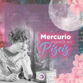 Mercurio ingresa a Piscis