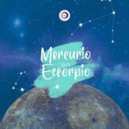 Mercurio ingresa a Escorpio