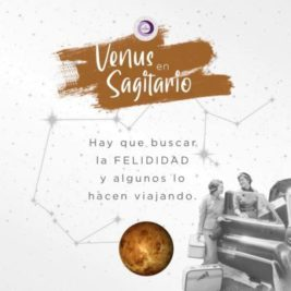 Venus ingresa en Sagitario