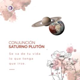 Conjunción Saturno Pluton