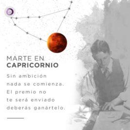 Marte en Capricornio