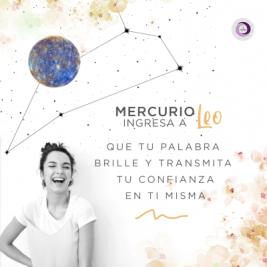 Mercurio en Leo