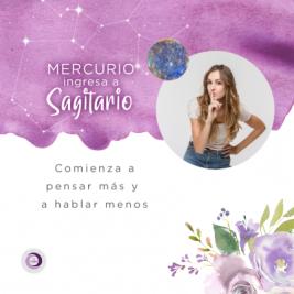 Mercurio ingresa en Sagitario